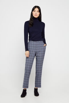 Cortefiel Chino fit trousers Blue