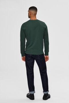 Cortefiel Organic sweatshirt Pistachiogreen