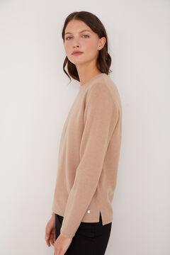 Cortefiel Soft feel crew neck t-shirt Mole