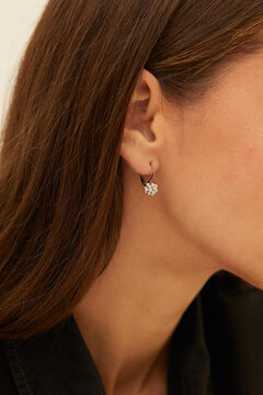 Cortefiel Short pearl earrings Stone
