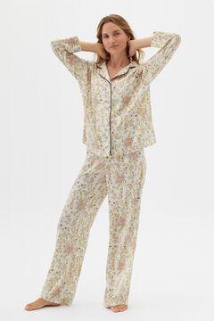 Cortefiel Camisa pijama Yellow