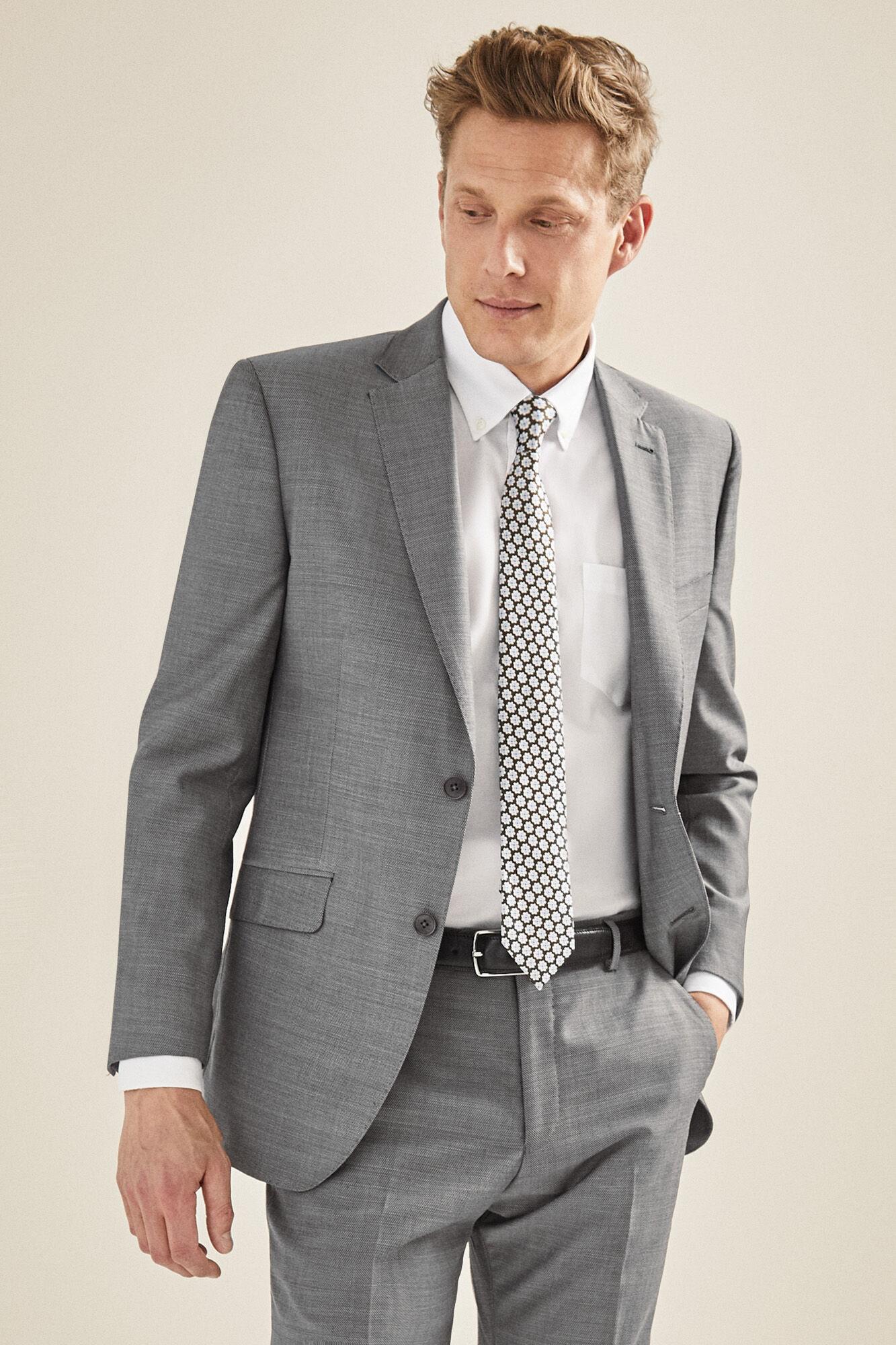 Pantalón traje estructura tailored fit  4284dbbaafda