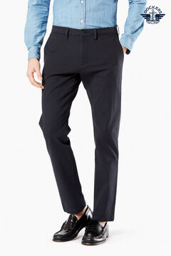 Cortefiel Chino slim Dockers® trousers with Smart 360 Flex™ Navy
