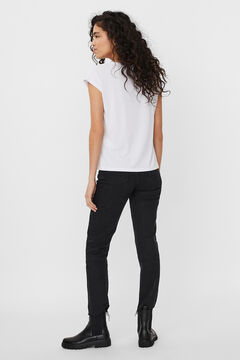 Cortefiel Flowing T-shirt White