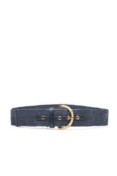 Cortefiel Regular fit hip belt Navy