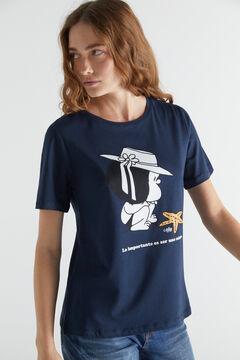 Cortefiel Mafalda T-shirt Navy
