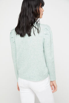 Cortefiel Soft collection jumper Green