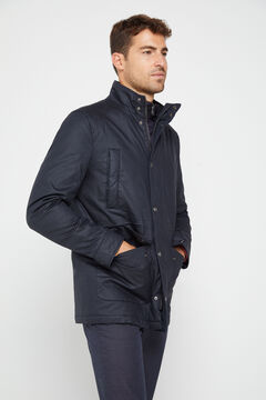 Cortefiel Jacket with removable lining Navy