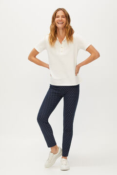Cortefiel Printed leggings Blue