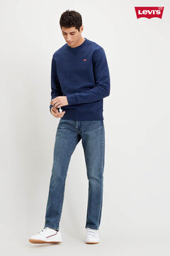 Cortefiel Fleece Levi's® round neck sweatshirt Navy