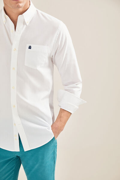 Cortefiel - Tailored-fit Oxford shirt - 2
