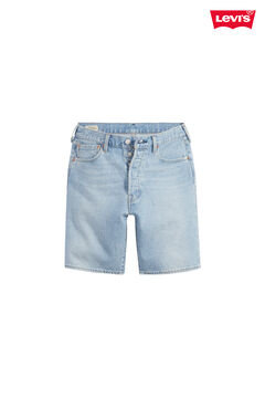 Cortefiel Levi's® 501 HEMMED SHORT Light blue