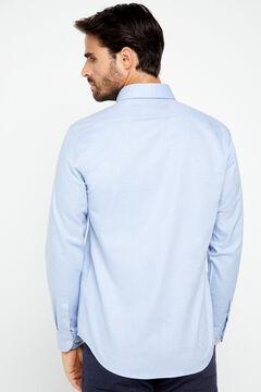 Cortefiel Camisa COOLMAX® lisa Azul