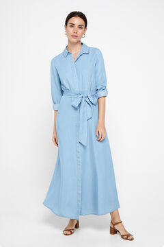 Cortefiel Shirt dress Royal blue