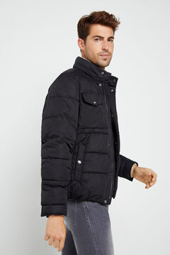 Cortefiel Urbanlight jacket with Thermolite Eco Black