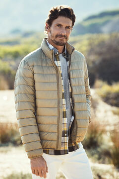 Cortefiel Ultralight thermolite jacket Khaki