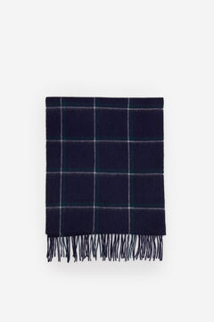 Cortefiel Checked cloth scarf Navy