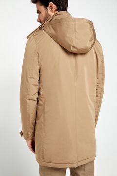 Cortefiel Lightweight Thermolite Eco trench coat Mink