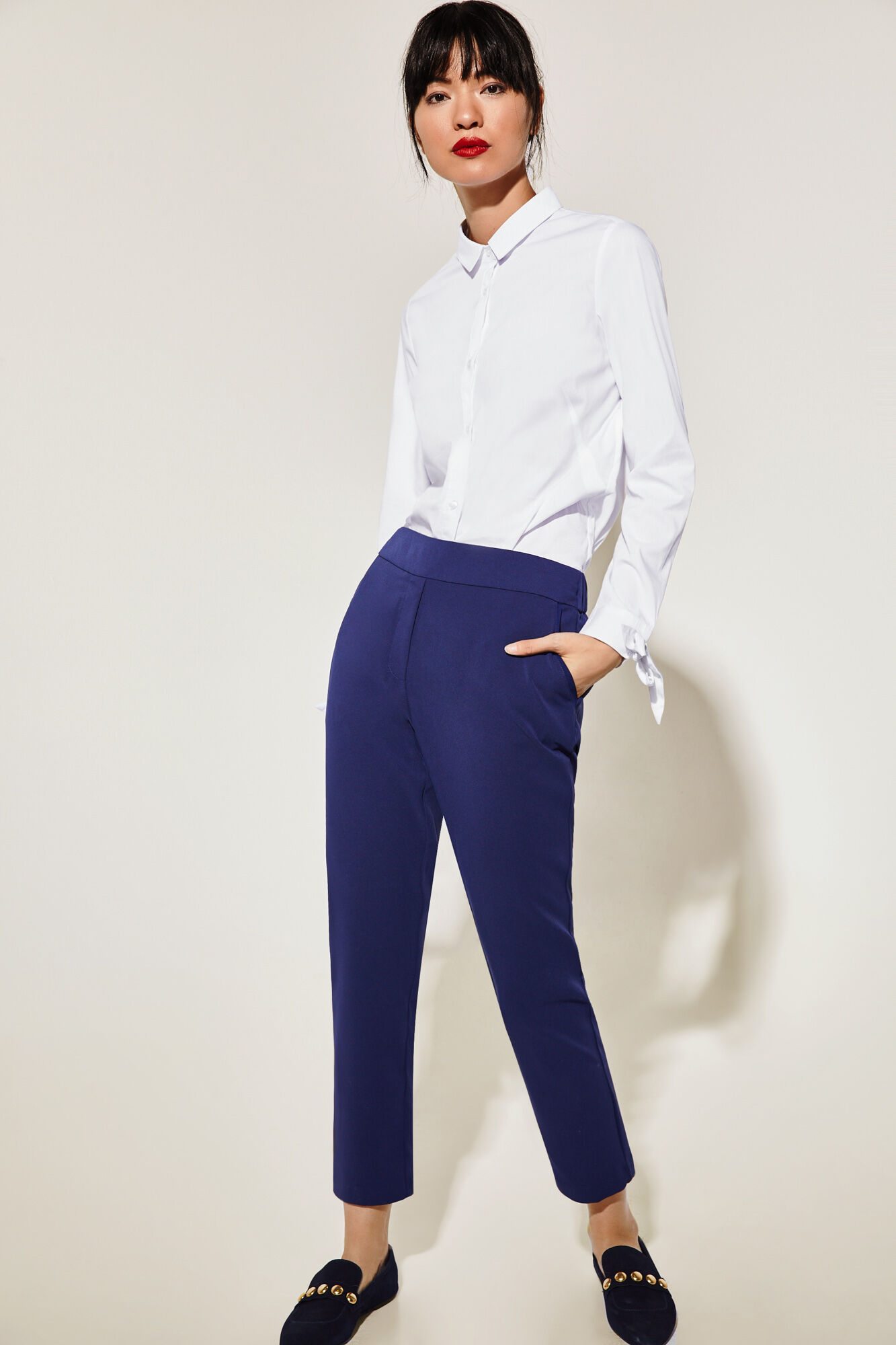 pantalones mujer de pantalones pantalones cortefiel de cortefiel fluidos fluidos cortefiel mujer fluidos mujer de awOEqvrw