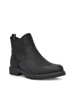 Cortefiel Biltmore leather chelsea boot Black
