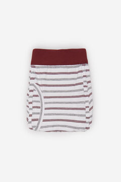 Cortefiel Striped jersey-knit boxers White