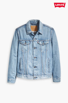 Cortefiel THE TRUCKER Levi's® JACKET Light blue