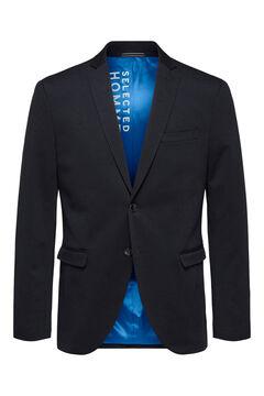 Cortefiel Lightweight slim blazer Navy