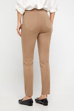 Cortefiel Sustainable wash Sensational jeggings Yellow