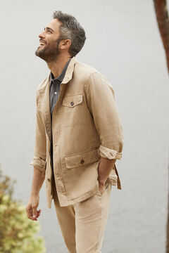 Cortefiel Safari jacket Mole