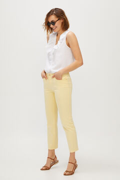 Cortefiel 5-pocket skinny trousers Multicolor