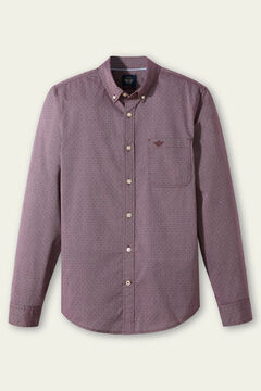 Cortefiel Printed Oxford Dockers® shirt with Supreme Flex™ Mole