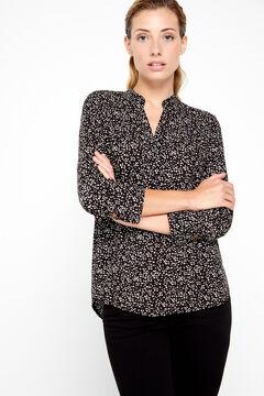 Cortefiel Eco-Vero fabric blouse Gray