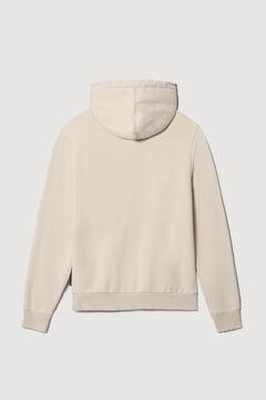 Cortefiel Napapijri BURGEE WINT hooded sweatshirt Ecru