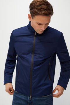 Cortefiel Technical jacket Turquoise