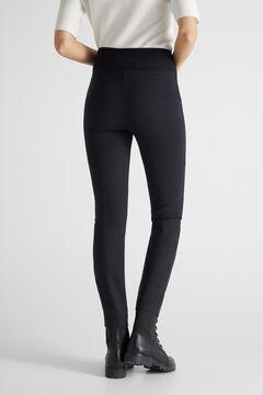 Cortefiel Ponte Roma leggings Black