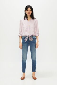 Cortefiel Medium wash skinny jeans Blue jeans