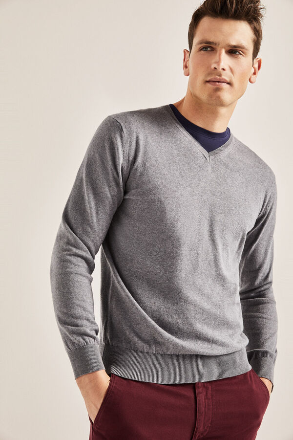 13e2d916a6f Jersey Color Mostaza Hombre - #1 jersey hombre