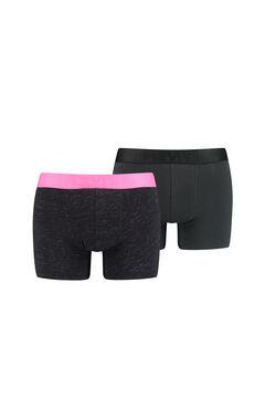 Cortefiel Pack de 2 boxers Levi's® de malha flamejada e fluorescente Rosa