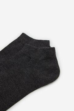 Cortefiel EcoCoolmax® ankle socks Gray