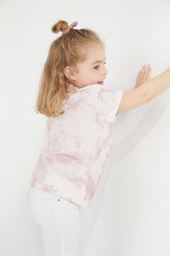 Cortefiel Girls' Snoopy t-shirt Purpura