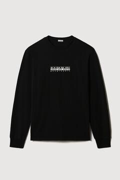 Cortefiel Napapijri S-BOX SS long-sleeved T-shirt Black