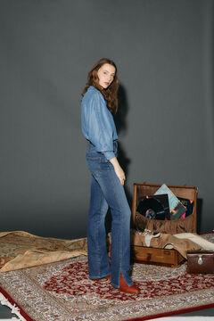 Cortefiel Regular fit jeans Royal blue