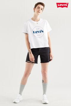 Cortefiel GRAPHIC VARSITY Levi's® TEE White