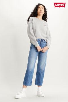 Cortefiel Basic Levi's® logo sweatshirt Dark gray