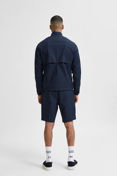 Cortefiel Nylon jacket Navy