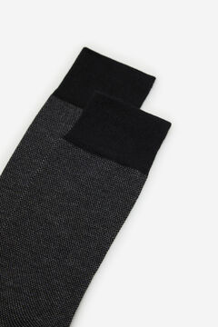Cortefiel Plain EcoCoolmax® socks Dark gray