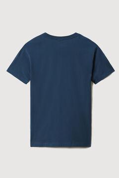 Cortefiel Napapijri S-BOX SS short-sleeved T-shirt Bordeaux