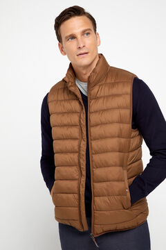 Cortefiel Ultralight quilted vest with Thermolite eco Mole