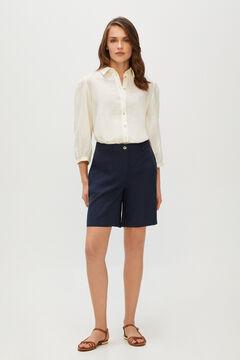 Cortefiel Bermuda shorts Navy
