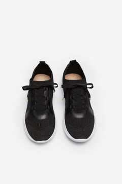 Cortefiel Black sock trainer Black